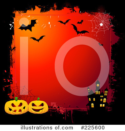 Royalty-Free (RF) Halloween Clipart Illustration by KJ Pargeter - Stock Sample #225600