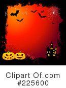 Royalty-Free (RF) Halloween Clipart Illustration #225600