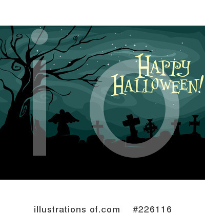 Cemetery Clipart #226116 by BNP Design Studio