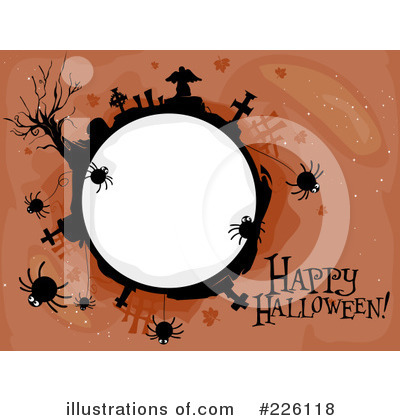 Happy Halloween Clipart #226118 by BNP Design Studio