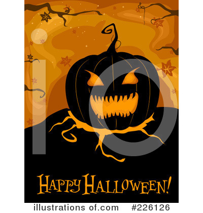 Happy Halloween Clipart #226126 by BNP Design Studio