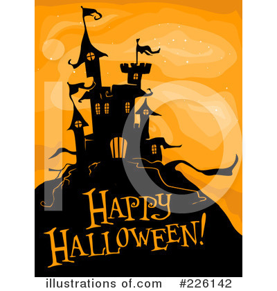 Happy Halloween Clipart #226142 by BNP Design Studio