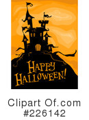 Royalty-Free (RF) Halloween Clipart Illustration #226142