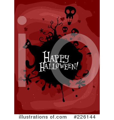 Happy Halloween Clipart #226144 by BNP Design Studio