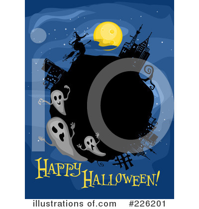 Happy Halloween Clipart #226201 by BNP Design Studio