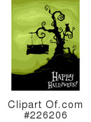 Royalty-Free (RF) Halloween Clipart Illustration #226206