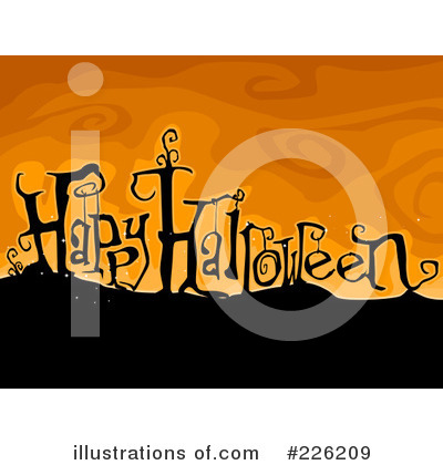Happy Halloween Clipart #226209 by BNP Design Studio