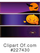 Royalty-Free (RF) Halloween Clipart Illustration #227430