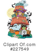 Royalty-Free (RF) Halloween Clipart Illustration #227549