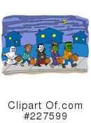 Halloween Clipart #227599 by LaffToon