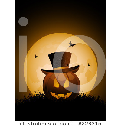 Halloween Pumpkin Clipart #228315 by elaineitalia