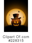 Royalty-Free (RF) Halloween Clipart Illustration #228315