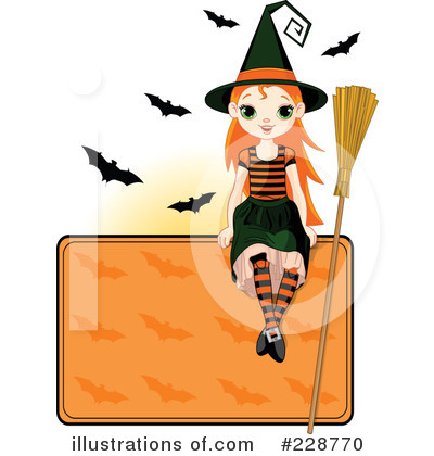 Witch Clipart #228770 by Pushkin