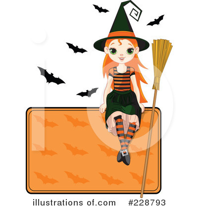 Witch Clipart #228793 by Pushkin
