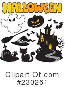 Halloween Clipart #230261 by visekart