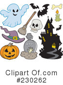 Halloween Clipart #230262 by visekart