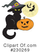 Halloween Clipart #230269 by visekart