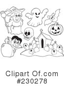 Halloween Clipart #230278 by visekart