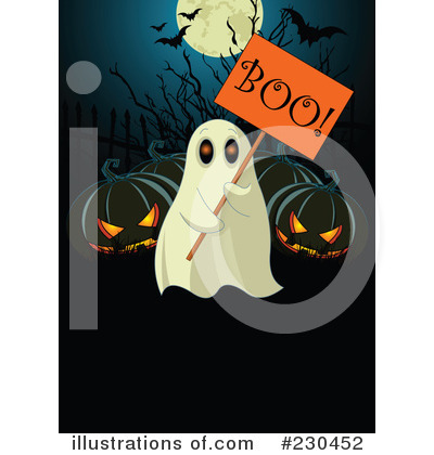 Royalty-Free (RF) Halloween Clipart Illustration by Pushkin - Stock Sample #230452