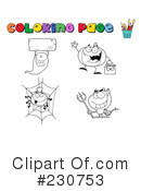 Royalty-Free (RF) Halloween Clipart Illustration #230753