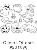 Halloween Clipart #231698 by visekart