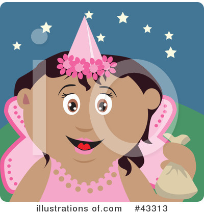 Tooth Fairy Clipart #43313 by Dennis Holmes Designs