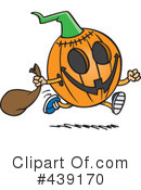 Halloween Clipart #439170 by toonaday