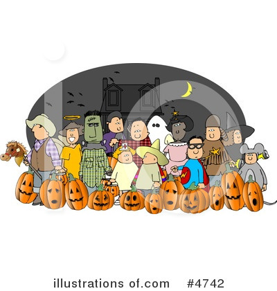 Halloween Clipart #4742 by djart