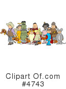 Royalty-Free (RF) halloween Clipart Illustration #4743