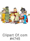Royalty-Free (RF) Halloween Clipart Illustration #4745