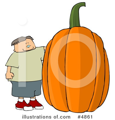 Royalty-Free (RF) Halloween Clipart Illustration by djart - Stock Sample #4861