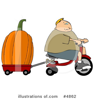 Pumpkin Clipart #4862 by djart