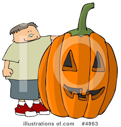 Pumpkin Clipart #4863 by djart