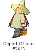 Royalty-Free (RF) halloween Clipart Illustration #5219