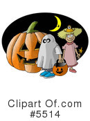 Royalty-Free (RF) Halloween Clipart Illustration #5514