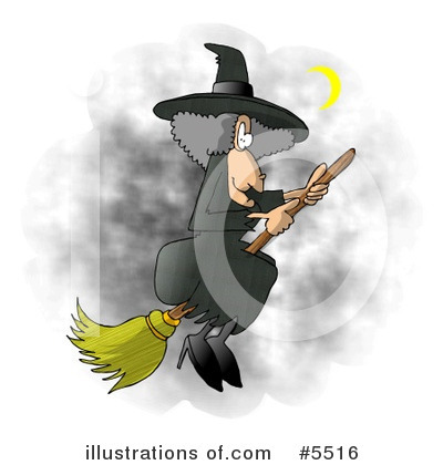 Witch Clipart #5516 by djart