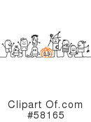 Royalty-Free (RF) Halloween Clipart Illustration #58165