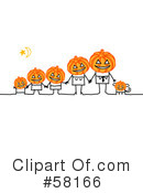 Royalty-Free (RF) Halloween Clipart Illustration #58166