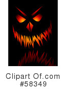 Royalty-Free (RF) Halloween Clipart Illustration #58349
