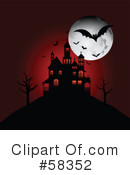 Royalty-Free (RF) Halloween Clipart Illustration #58352