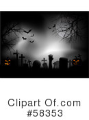 Royalty-Free (RF) halloween Clipart Illustration #58353