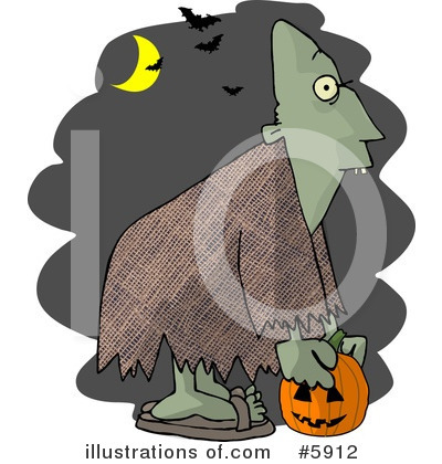 Halloween Clipart #5912 by djart