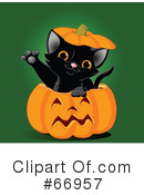 Royalty-Free (RF) Halloween Clipart Illustration #66957