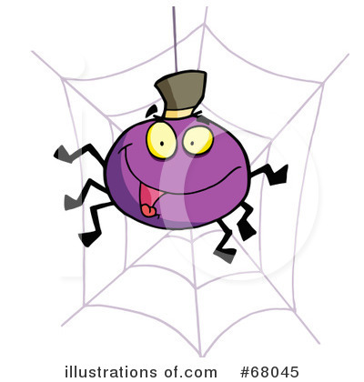 Spider Clipart #68045 by Hit Toon