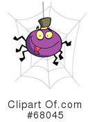 Royalty-Free (RF) Halloween Clipart Illustration #68045
