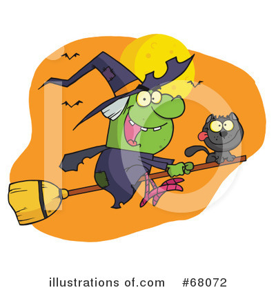 Witch Clipart #68072 by Hit Toon