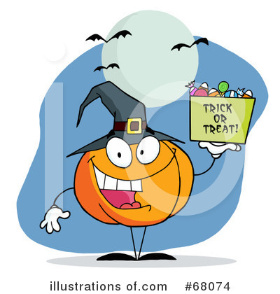 Jackolantern Clipart #68074 by Hit Toon