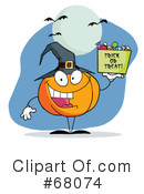 Halloween Clipart #68074 by Hit Toon