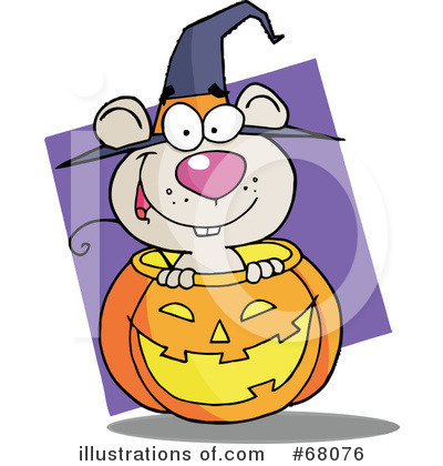 Halloween Pumpkin Clipart #68076 by Hit Toon