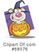 Royalty-Free (RF) Halloween Clipart Illustration #68076